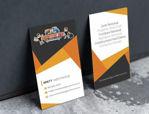 Competitive Edge Business Card
